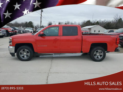 2016 Chevrolet Silverado 1500 for sale at Hills Auto Sales in Salem AR