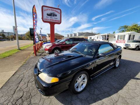 1998 Ford Mustang for sale at Ford's Auto Sales in Kingsport TN