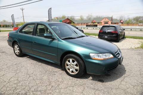 2002 Honda Accord for sale at Queen City Classics in West Chester OH