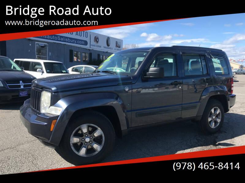2008 Jeep Liberty for sale at Bridge Road Auto in Salisbury MA