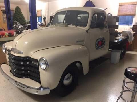 1952 Chevrolet Silverado 3500 for sale at Classic Car Deals in Cadillac MI