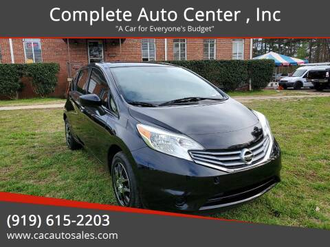 2016 Nissan Versa Note for sale at Complete Auto Center , Inc in Raleigh NC