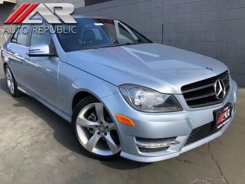 2014 Mercedes-Benz C-Class for sale at Auto Republic Fullerton in Fullerton CA