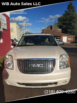 2009 GMC Yukon XL for sale at WB Auto Sales LLC in Barnum MN