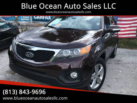 2012 Kia Sorento for sale at Blue Ocean Auto Sales LLC in Tampa FL