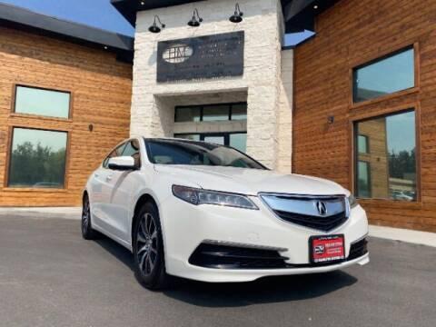 2016 Acura TLX for sale at Hamilton Motors in Lehi UT