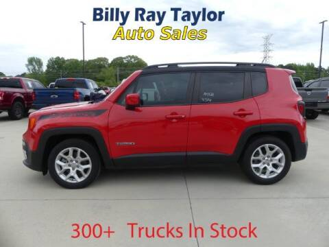2016 Jeep Renegade for sale at Billy Ray Taylor Auto Sales in Cullman AL