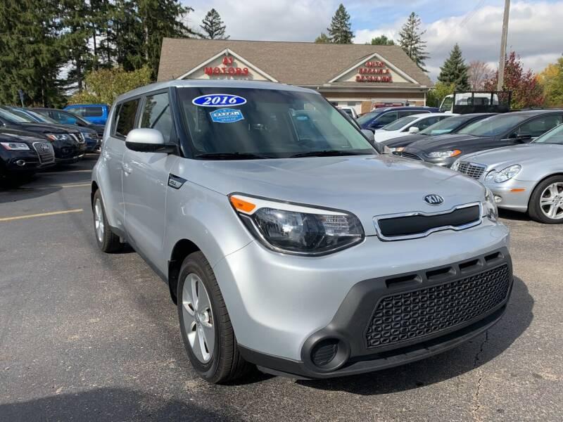 2016 Kia Soul for sale at A 1 Motors in Monroe MI