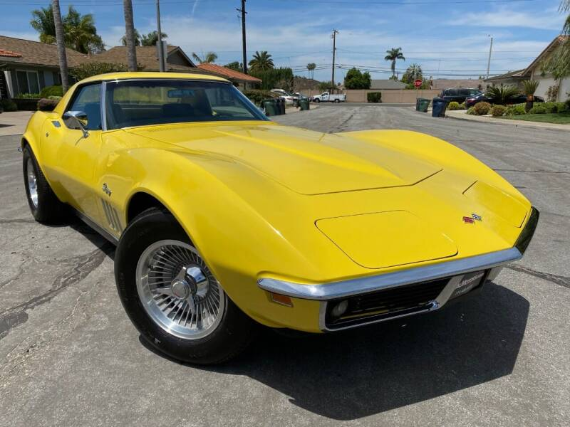 1969 Chevrolet Corvette for sale at SoCal Motors in Los Alamitos CA