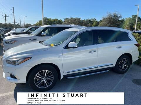 2017 Infiniti QX60 for sale at Infiniti Stuart in Stuart FL