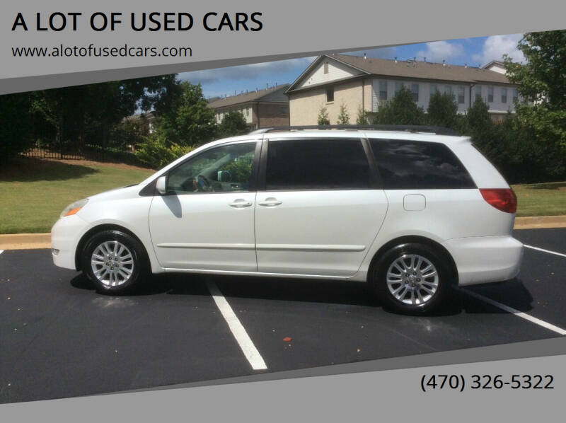 2008 Toyota Sienna for sale at A LOT OF USED CARS in Suwanee GA