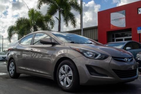 2016 Hyundai Elantra for sale at Florida Auto Reserve in Medley FL