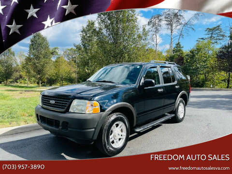 2003 Ford Explorer for sale at Freedom Auto Sales in Chantilly VA