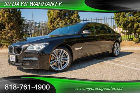 2014 BMW 7 Series for sale at Prestige Auto Sports Inc in North Hollywood CA