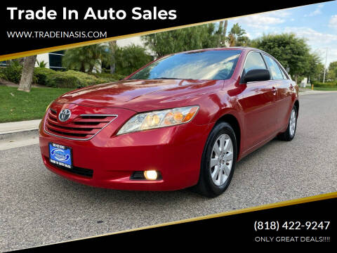 2009 Toyota Camry for sale at Trade In Auto Sales in Van Nuys CA
