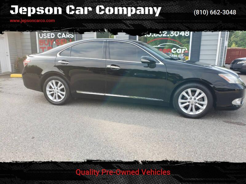 2011 Lexus ES 350 for sale at Jepson Car Company in Saint Clair MI