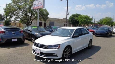 2017 Volkswagen Jetta for sale at RVA MOTORS in Richmond VA