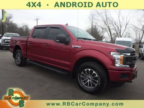 2018 Ford F-150 for sale at R & B CAR CO - R&B CAR COMPANY in Columbia City IN