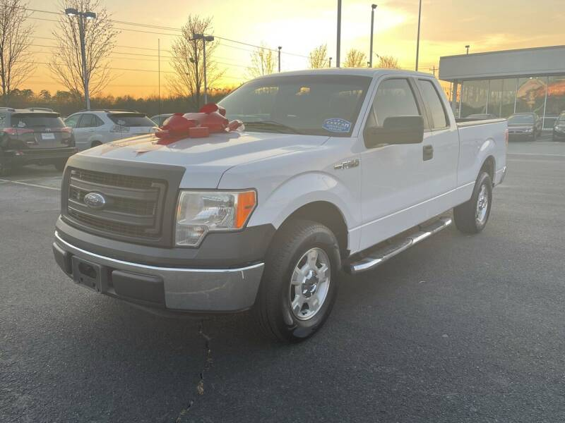 2013 Ford F-150 for sale at Charlotte Auto Group, Inc in Monroe NC