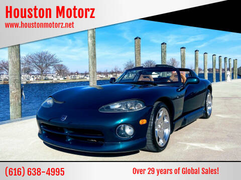 1994 Dodge Viper for sale at Houston Motorz in Nunica MI