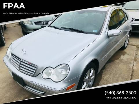 2007 Mercedes-Benz C-Class for sale at FPAA in Fredericksburg VA
