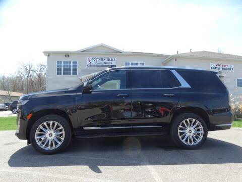 2021 Cadillac Escalade for sale at SOUTHERN SELECT AUTO SALES in Medina OH