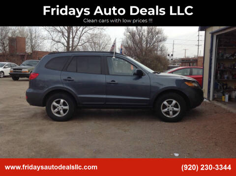 2008 Hyundai Santa Fe for sale at Fridays Auto Deals LLC in Oshkosh WI