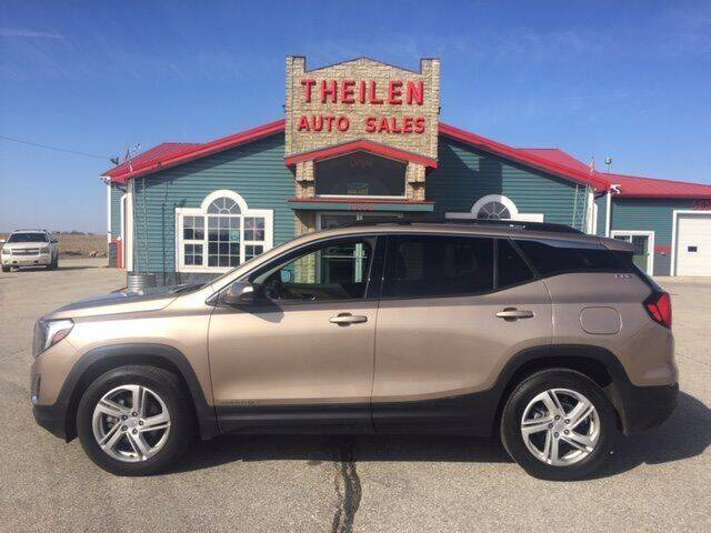 2018 GMC Terrain for sale at THEILEN AUTO SALES in Clear Lake IA