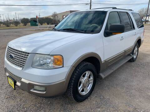 2003 Ford Expedition for sale at Rock Motors LLC in Victoria TX