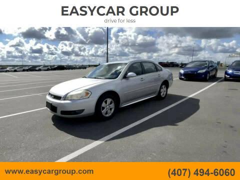 2010 Chevrolet Impala for sale at EASYCAR GROUP in Orlando FL