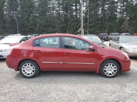 2011 Nissan Sentra for sale at WILSON MOTORS in Spanaway WA
