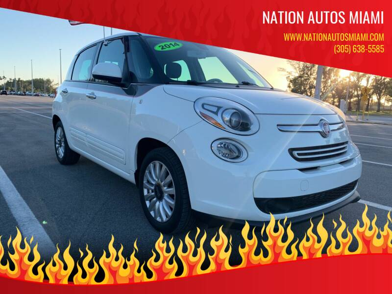 2014 FIAT 500L for sale at Nation Autos Miami in Hialeah FL