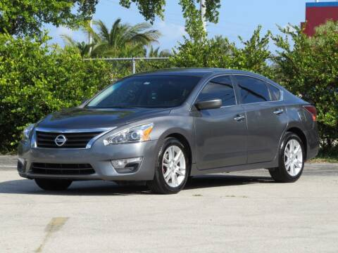 2014 Nissan Altima for sale at DK Auto Sales in Hollywood FL