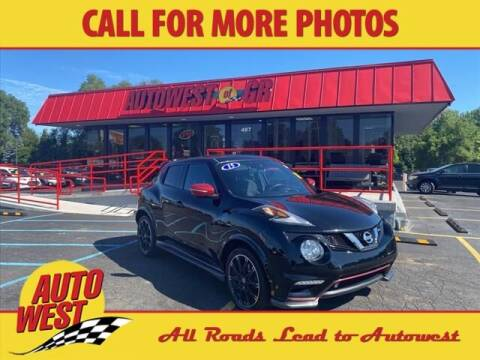 2015 Nissan JUKE for sale at Autowest of GR in Grand Rapids MI
