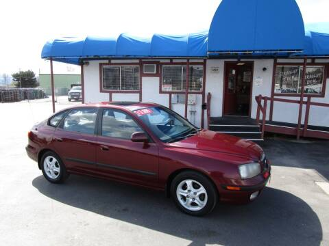2001 Hyundai Elantra for sale at Jim's Cars by Priced-Rite Auto Sales in Missoula MT