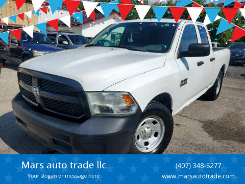 2016 RAM Ram Pickup 1500 for sale at Mars auto trade llc in Kissimmee FL
