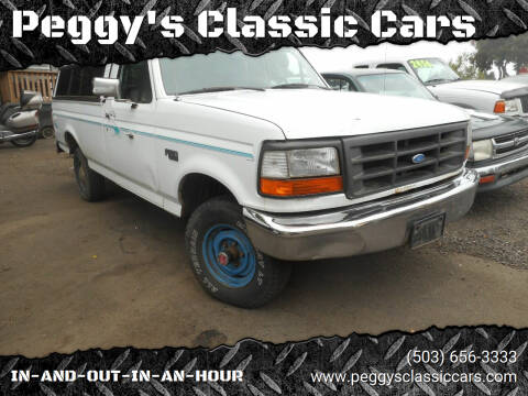 1992 Ford F-150 for sale at Peggy's Classic Cars in Oregon City OR