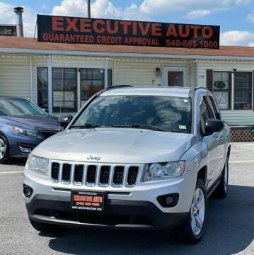 2011 Jeep Compass for sale at Executive Auto in Winchester VA