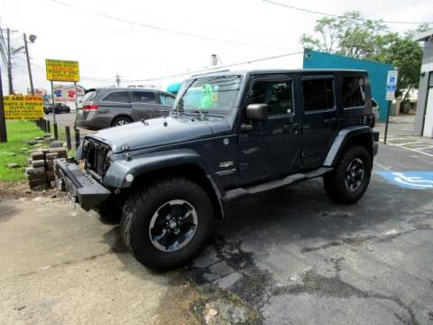 2008 Jeep Wrangler Unlimited for sale at American Auto Group Now in Maple Shade NJ