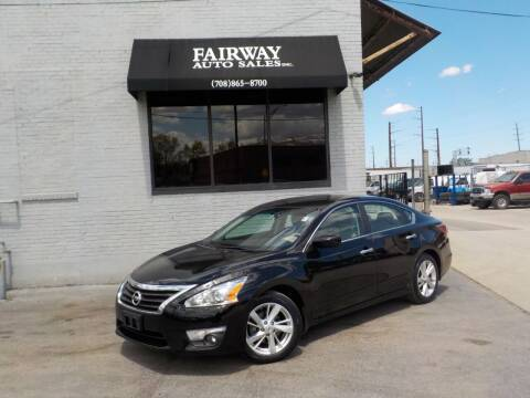 2015 Nissan Altima for sale at FAIRWAY AUTO SALES, INC. in Melrose Park IL