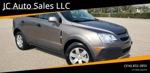 2012 Chevrolet Captiva Sport for sale at JC Auto Sales LLC in Wichita KS