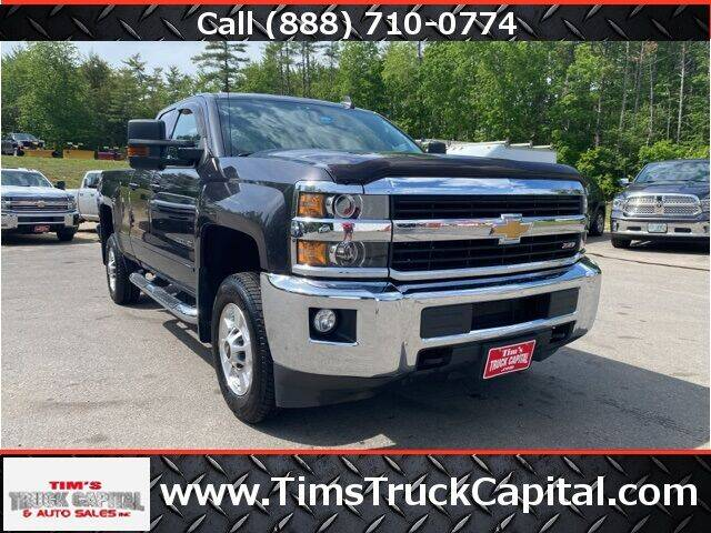 2016 Chevrolet Silverado 2500HD for sale at TTC AUTO OUTLET/TIM'S TRUCK CAPITAL & AUTO SALES INC ANNEX in Epsom NH