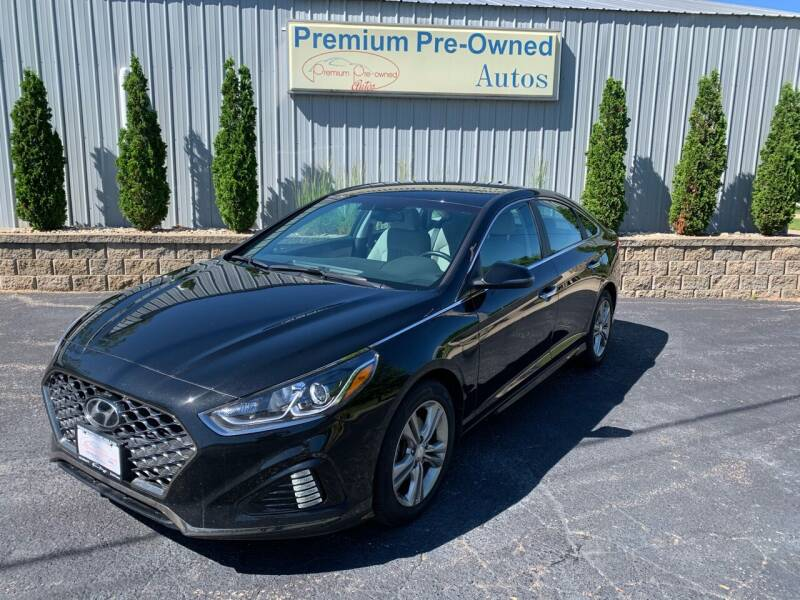 2018 Hyundai Sonata for sale at PREMIUM PRE-OWNED AUTOS in East Peoria IL