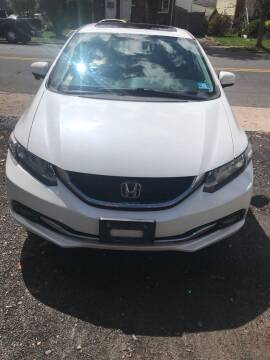 2015 Honda Civic for sale at Jardims' Automotive in Roselle NJ