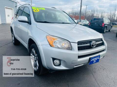 2011 Toyota RAV4 for sale at Transportation Center Of Western New York in Niagara Falls NY