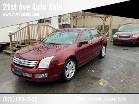 2007 Ford Fusion for sale at 21st Ave Auto Sale in Paterson NJ