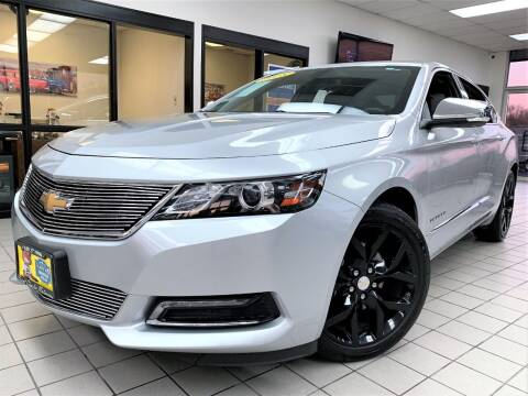 2018 Chevrolet Impala for sale at SAINT CHARLES MOTORCARS in Saint Charles IL