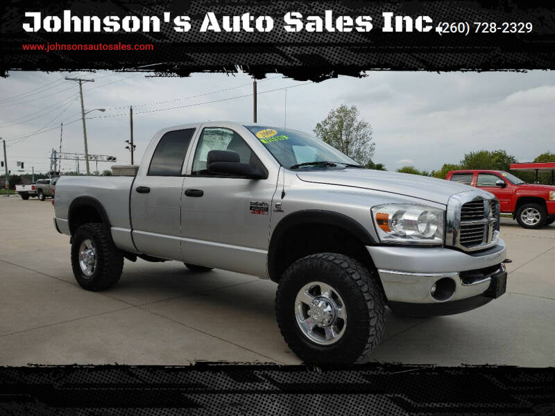 2008 Dodge Ram Pickup 2500 for sale at Johnson's Auto Sales Inc. in Decatur IN