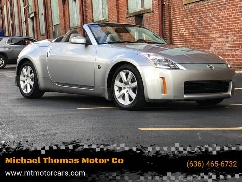2004 Nissan 350Z for sale at Michael Thomas Motor Co in Saint Charles MO