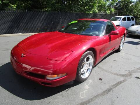 2001 Chevrolet Corvette for sale at LULAY'S CAR CONNECTION in Salem OR